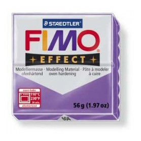 Fimo Effect nr. 604 Transparant purper