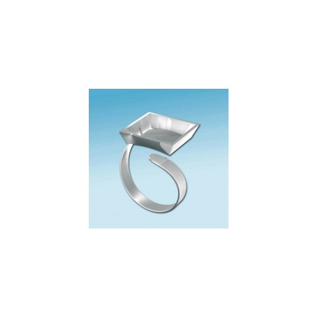 Fimo Square shaped ring