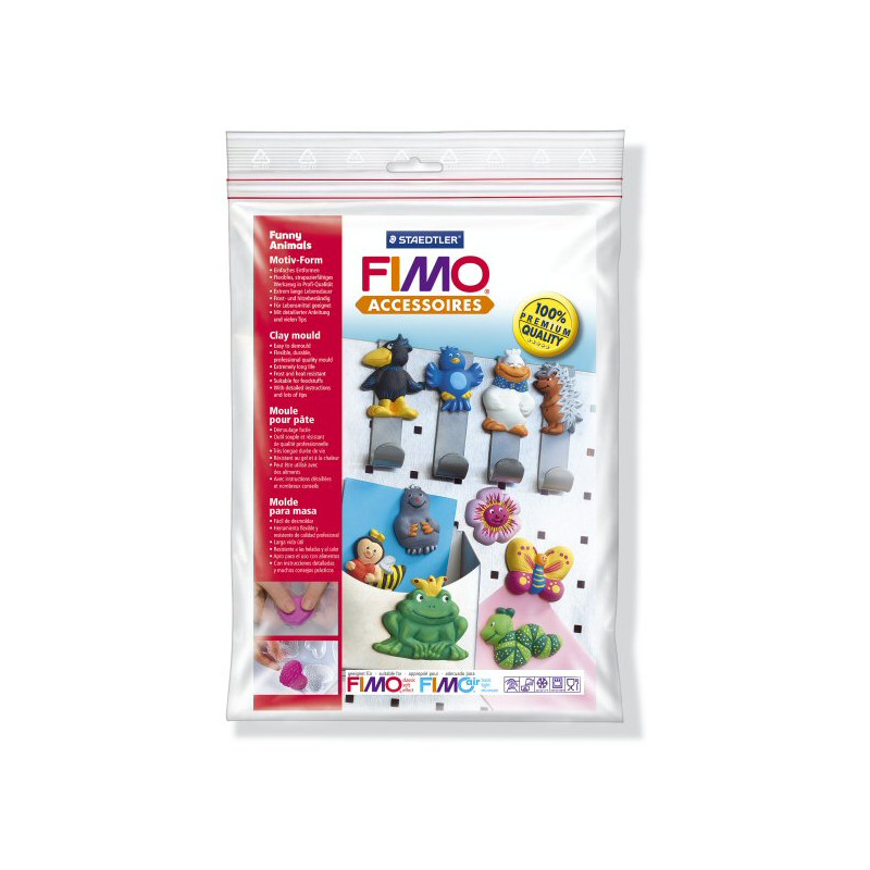 Fimo Motiv-Form Funny animals
