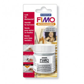 Fimo varnish for leaf metal