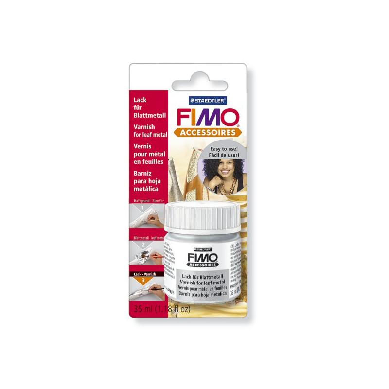 Fimo varnish for leaf metal