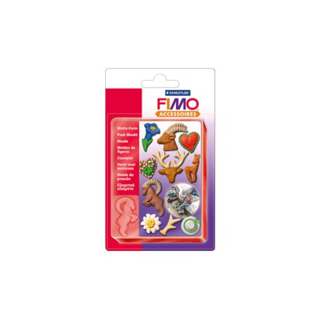 Fimo Motiv-Form Alpenstil