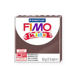 Fimo Kids nr. 7 brown