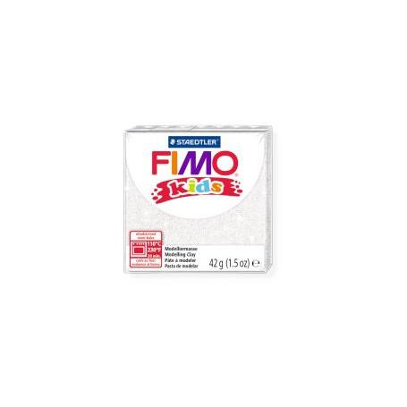 Fimo Kids nr. 052glitter Weiß