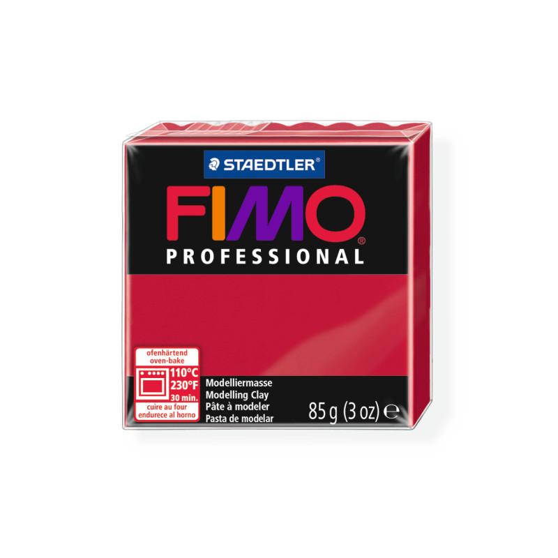 Fimo Professional 29 karmijn rood