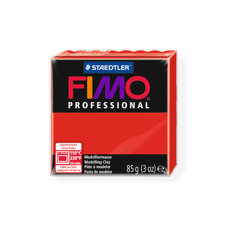 Fimo Professional 200 rot
