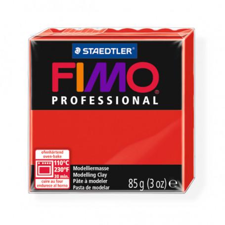 Fimo Professional 200 puur rood