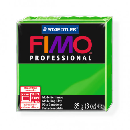 Fimo Professional 5 sap groen
