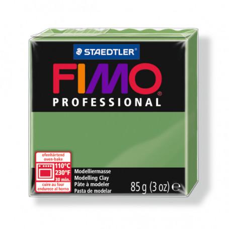 Fimo Professional 57 Laubgrün