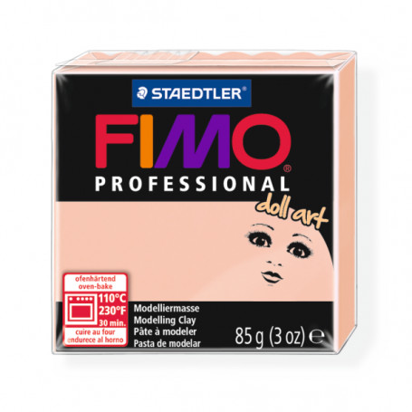 Fimo professional doll art. color 432 transparant rose