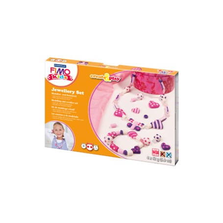 Fimo Kids Jewellery Set Hearts