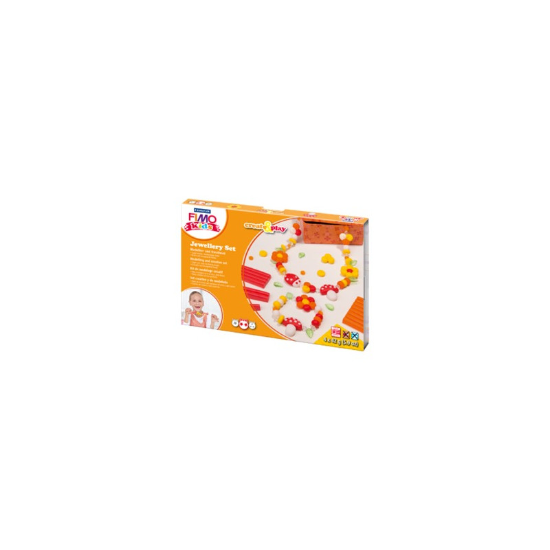 Fimo Kids Jewellery Set Flowers