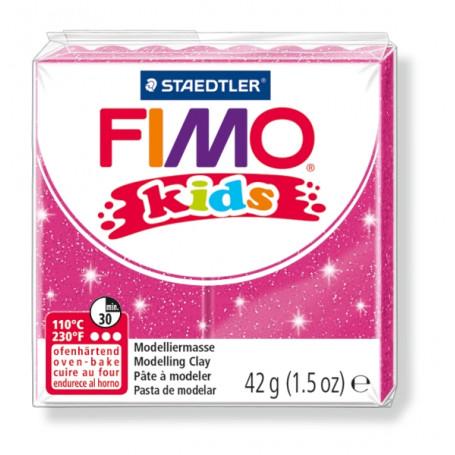 Fimo Kids nr. 262 roze fonkel