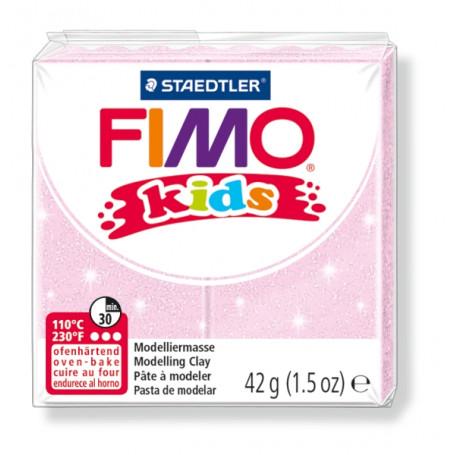 Fimo Kids nr. 206 Rose parelmoer