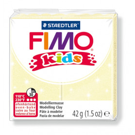 Fimo Kids nr. 106 Perlglanz Gelb