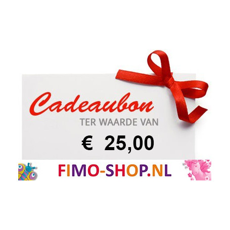 Kadobon € 25,00