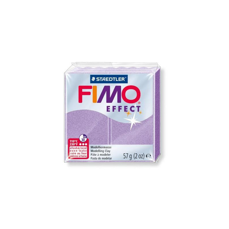Fimo Effect nr. 607 pearl lilac