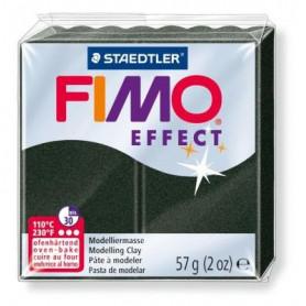 Fimo Effect nr. 907 parelmoer zwart