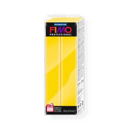 Fimo Professional 100 True Yellow 350 gram