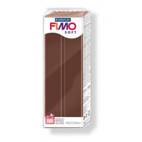 Fimo soft nr 75 Chocolade 350gr.
