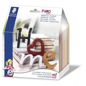 Fimo soft Deko Buchstaben