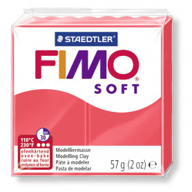 Fimo soft nr 40 Flamingo