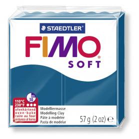 Fimo soft nr 31 Calypso blau